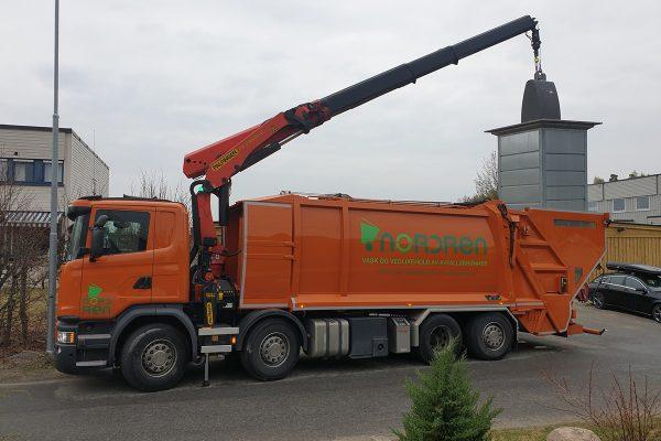 NordRen AS - Vask og vedlikehold av avfallsbrønnr - Vask av avfallsbrønner 1