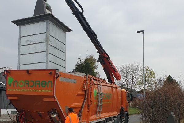NordRen AS - Vask og vedlikehold av avfallsbrønnr - Vask av avfallsbrønner 3